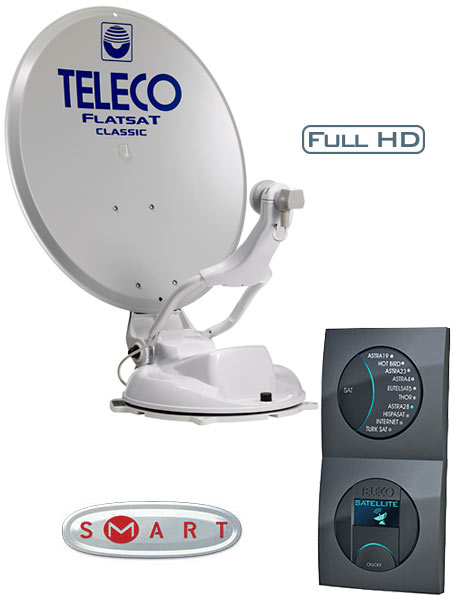 telecogroup teleco flatsat classic s smart. Black Bedroom Furniture Sets. Home Design Ideas