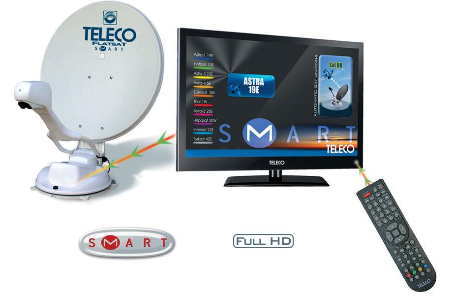 Telecogroup/Teleco - FlatSat Elegance 2 SMART